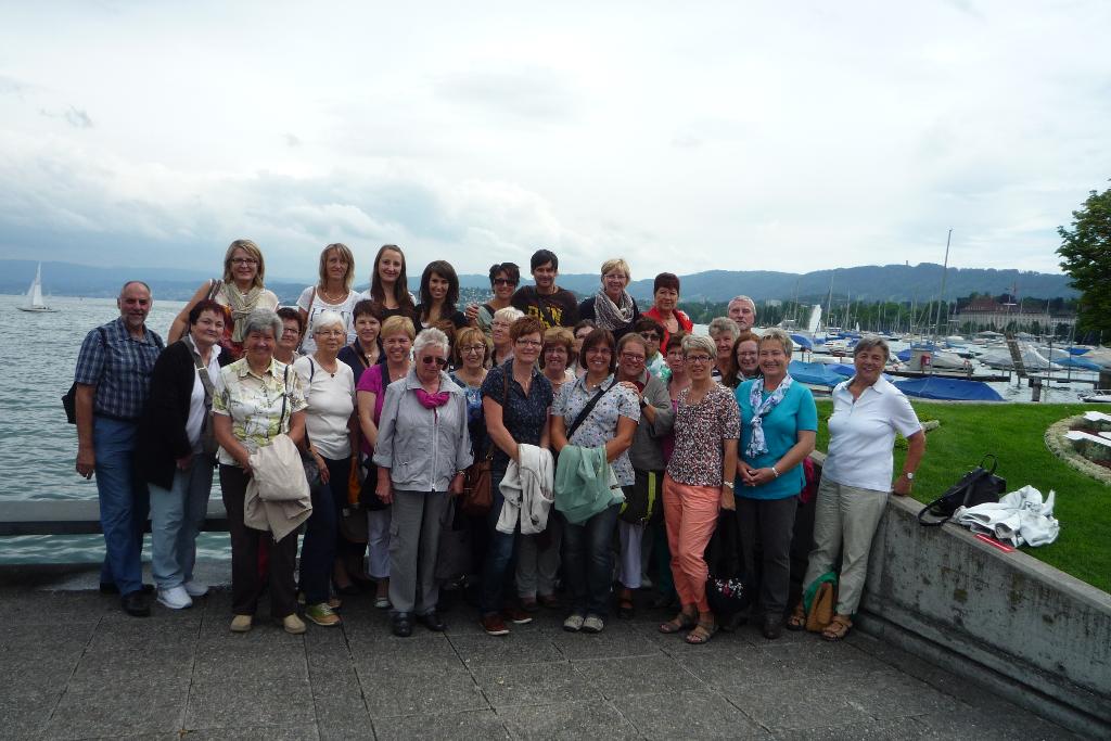 TVD Ausflug 2014 nach Zürich
