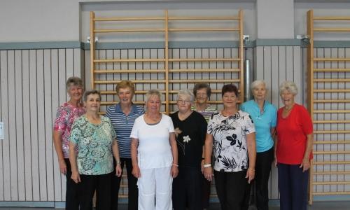 Frauengruppe II (ab 65 Jahren ohne Grenze nach oben!)