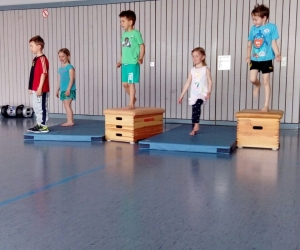 Schwerpunkt Koordination, Geschicklickeit, Gleichgewicht in der Vorschulgruppe